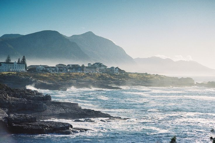 Shoreline near Hermanus, South Africa on one of many wonderful mornings there.