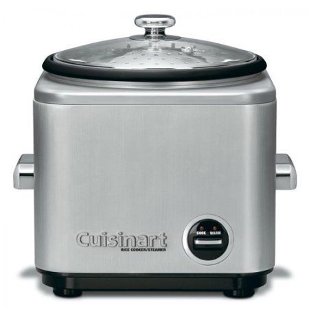 Cuisinart Rice Cooker 8-15 Cups CRC-800, Clear