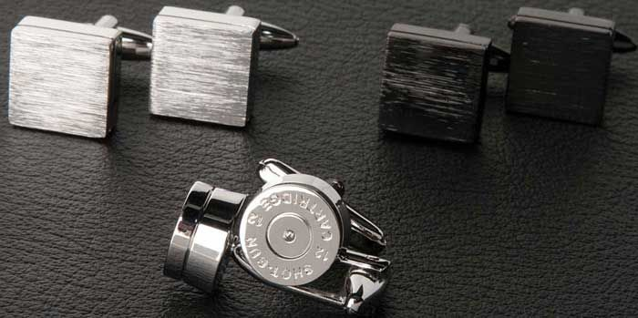 5 Useful tips to remember when buying men's wedding cufflinks