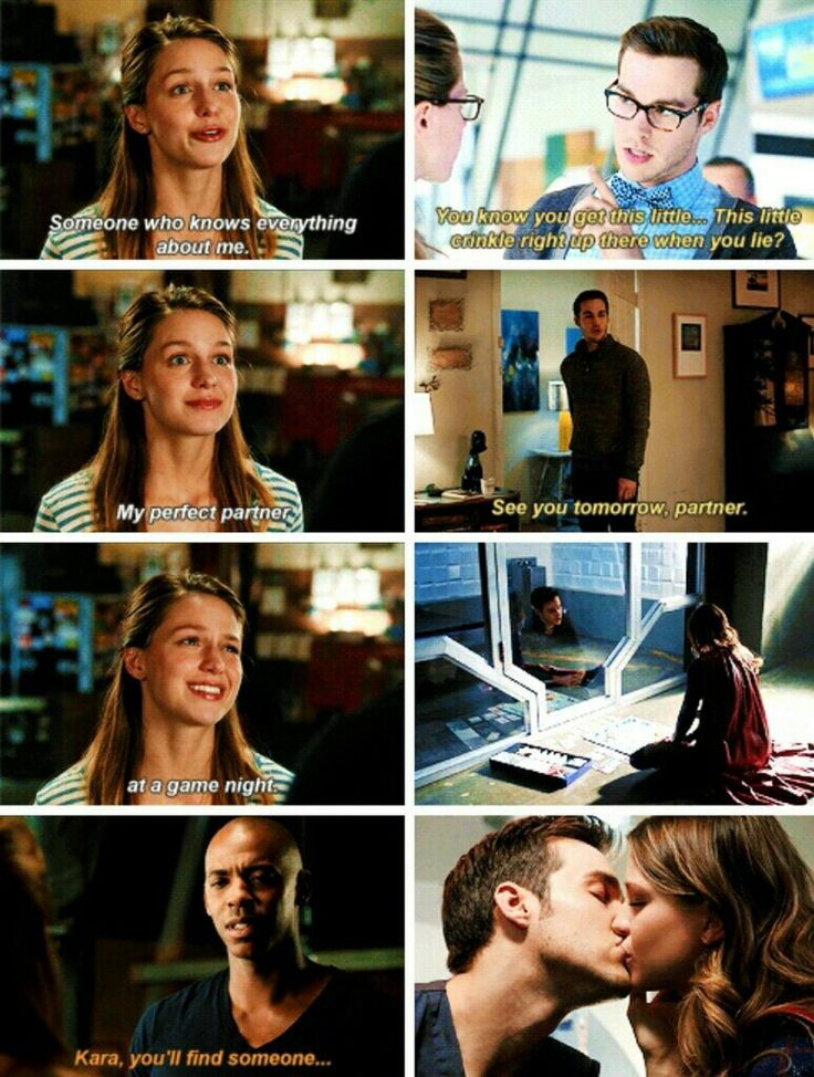 "Oh, this is so cute! (And perfect.) Whoever made this: you are AWESOME :D I liked Kara/James in S1, but on a passive, ""eh, not bad"" level. (And I couldn't help thinking James/Lucy were a better match.) Kara and Mon-El are like exactly what they each never knew they needed in a partner <3 