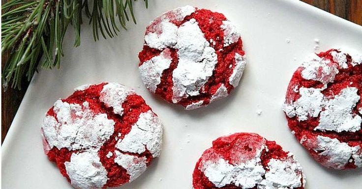 Jemně krémové máslové sušenky Red velvet