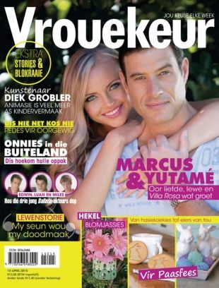 Vrouekeur 10 April 2015 edition - Read the digital edition by Magzter on your iPad, iPhone, Android, Tablet Devices, Windows 8, PC, Mac and the Web.