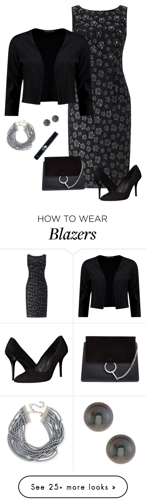 """Pro"" by picassogirl on Polyvore featuring Adrianna Papell, Boohoo, Chloé, The Kooples, Kenneth Jay Lane, Belpearl and Diptyque"