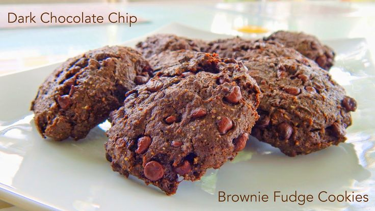 Amazing, chewy, fudgy chocolate chip cookies! 2g net carbs per cookie. Wheat and gluten free and low carb!