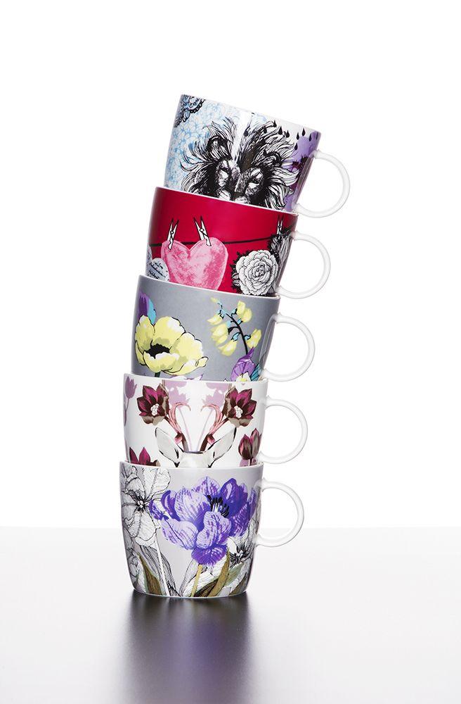 Vallila Interior AW14 collection, Muru mugs
