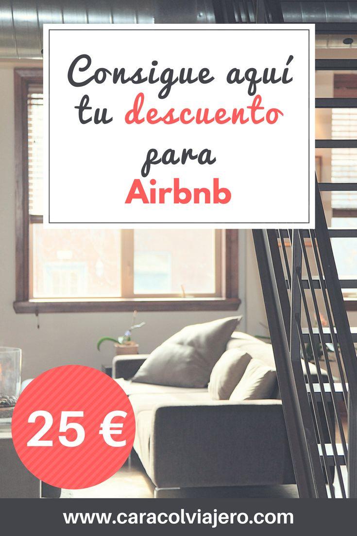 Aquí podrás encontrar tu descuento para Airbnb de 25 euros, también te ofrezco un descuento en tu seguro de viaje y otras sorpresas. #descuento #ahorro #viajes #barato