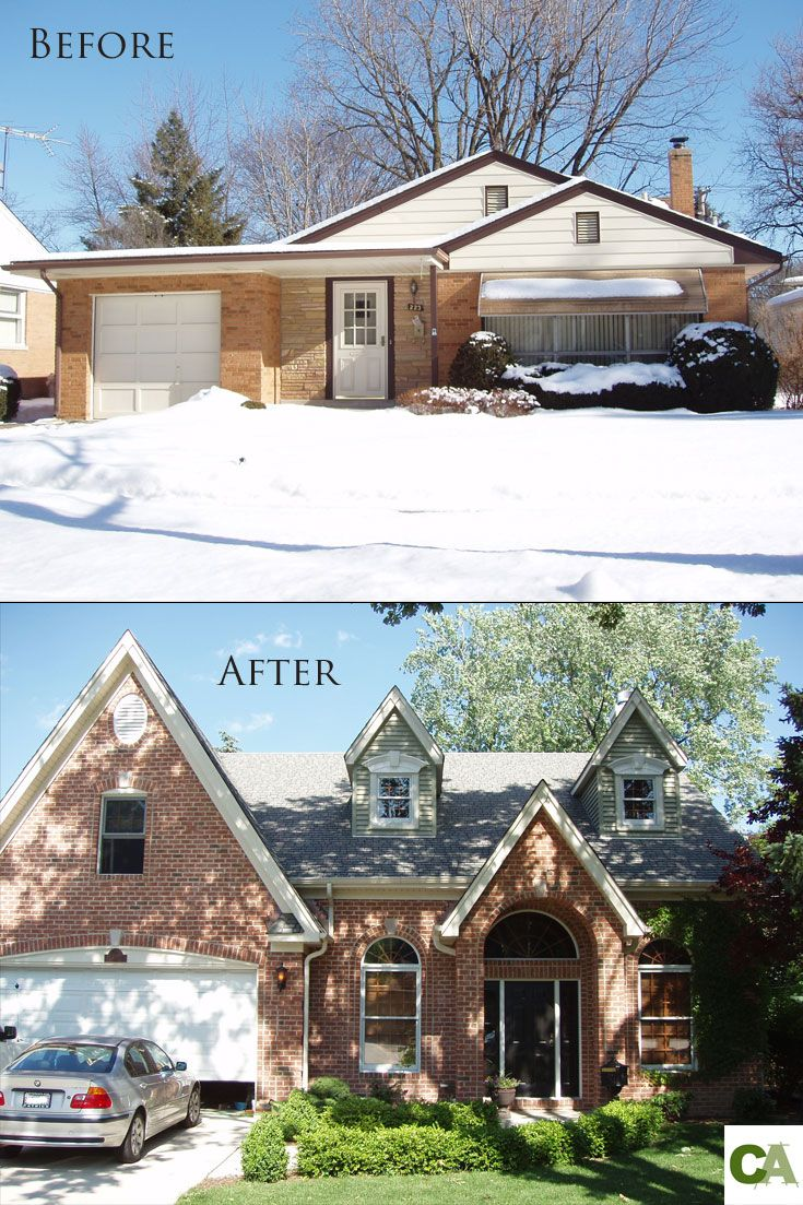 This is a home we transformed in Arlington Heights, IL. Before and ...