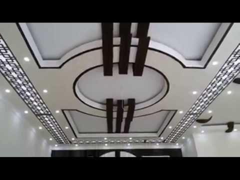 Model Plafond Platre Moderne ديكورات جبس أسقف صالات وغرف جديدة Youtube Drawing Room Ceiling Design House Ceiling Design Ceiling Design