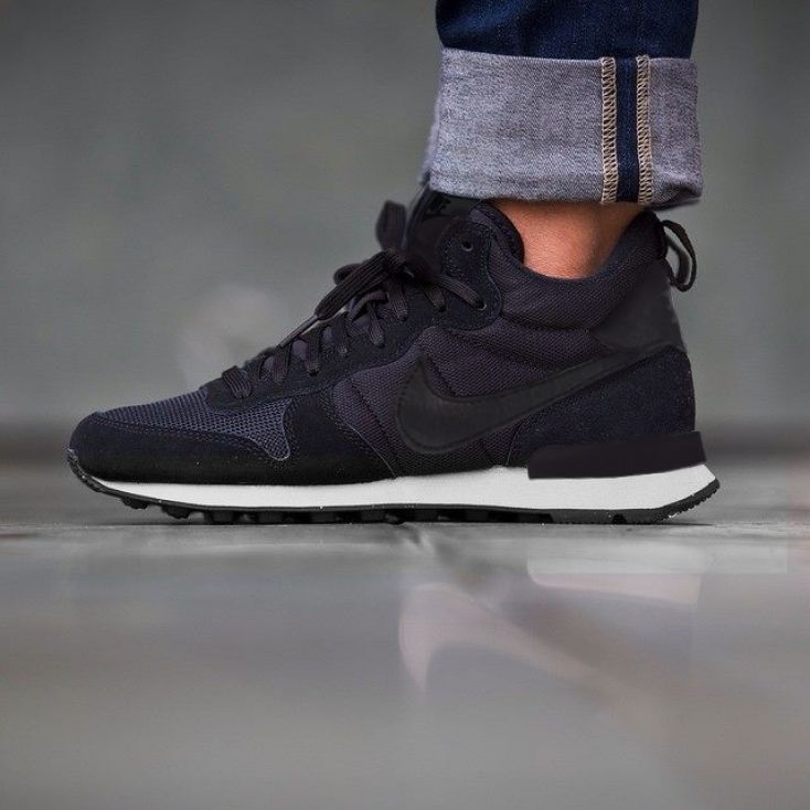 best website 388b5 dbfbc ... grey In love with this trainers Nike Internationalist Mid Black Black  Anthracite Sail ...