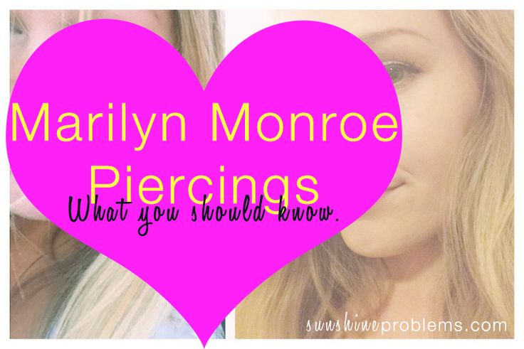 "What you should know before getting a ""Monroe Piercing."" http://sunshineproblems.com/monroe-piercings-what-you-should-know/"