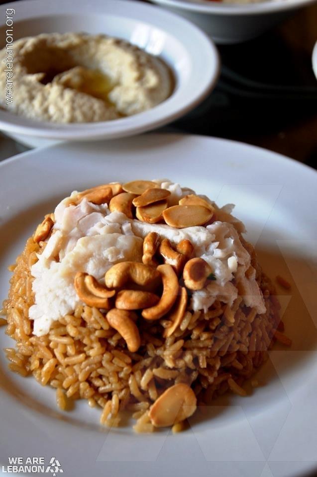 Who likes Sayyedieh, a Lebanese specialty of fish & rice? مين عبالو صيّادية؟