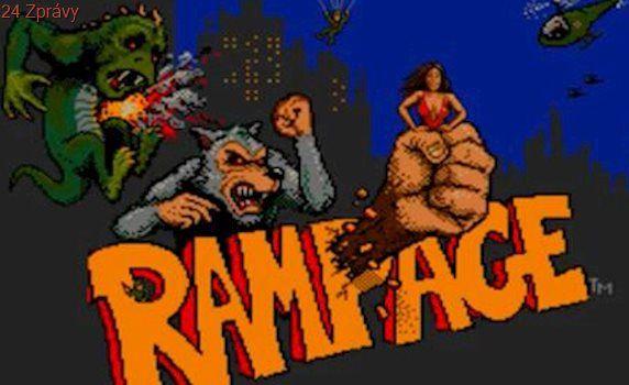Dwayne Johnson ničí město jako velká opice ve filmu podle retro videohry