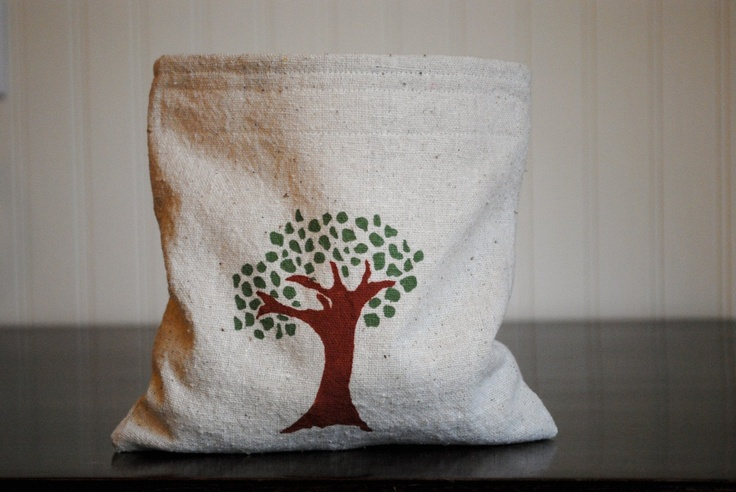 3 Reusable Sandwich or Snack Bags Woodland. $19.95, via Etsy.