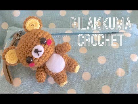 Amigurumi Rilakkuma Bear - FREE Crochet Pattern / Tutorial