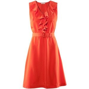 Burnt Orange Dress - Click for More...