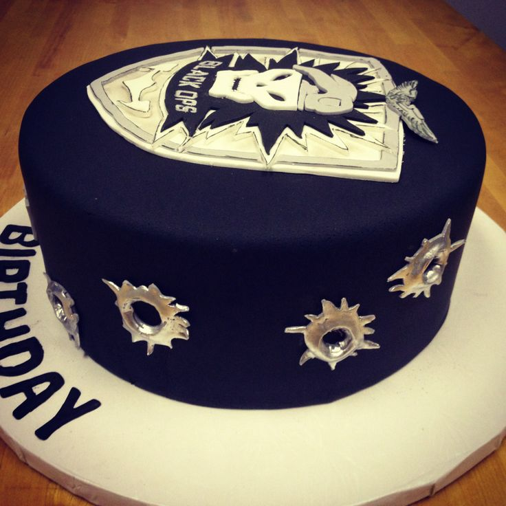 Call Of Duty Bullet Hole Cake Call Of Duty Cakes Cake