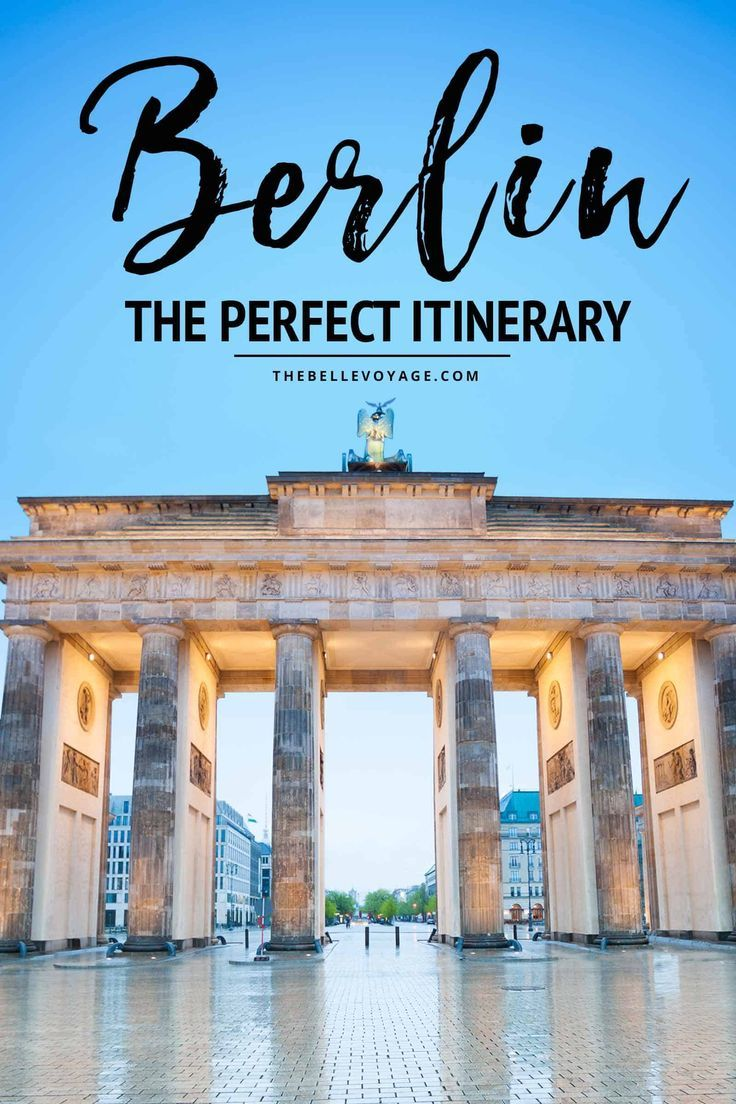 Berlin Germany – The Perfect Itinerary For First-Timers   Berlin Travel Guide   Things to Do in Berlin Germany   Berlin travel   Berlin food   What to see in Berlin   What to do in Berlin Germany   Berlin vacation #berlin #germany #itinerary via @thebellevoyage