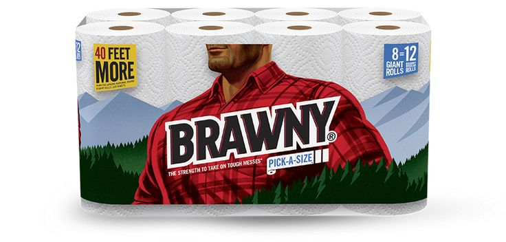 New $1/1 Brawny Paper Towels Printable Coupon (Plus Matching Kmart Deal) - http://www.couponaholic.net/2016/02/new-11-brawny-paper-towels-printable-coupon-plus-matching-kmart-deal/