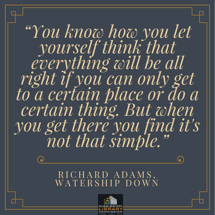 Today's #quote comes from Richard Adams' classic adventure novel #watershipdown. #RIPRichardAdams