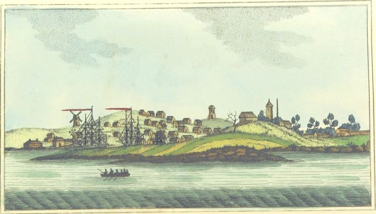 Town & Cove of Sydney by Woodthorpe Pub. by M. Jones, Paternoster-Row, March 18, 1803