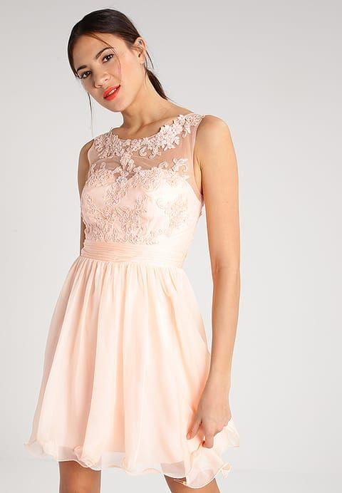 Luxuar Fashion Robe de soirée - apricot - ZALANDO.FR