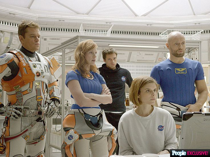 First Look! Matt Damon Is Lost in Space in Ridley Scott's The Martian| Entertainment Weekly, Movie News, Jessica Chastain, Matt Damon, Ridley Scott