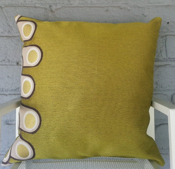 Mint Chocolate Scatter Cushion. $20.00, via Etsy.