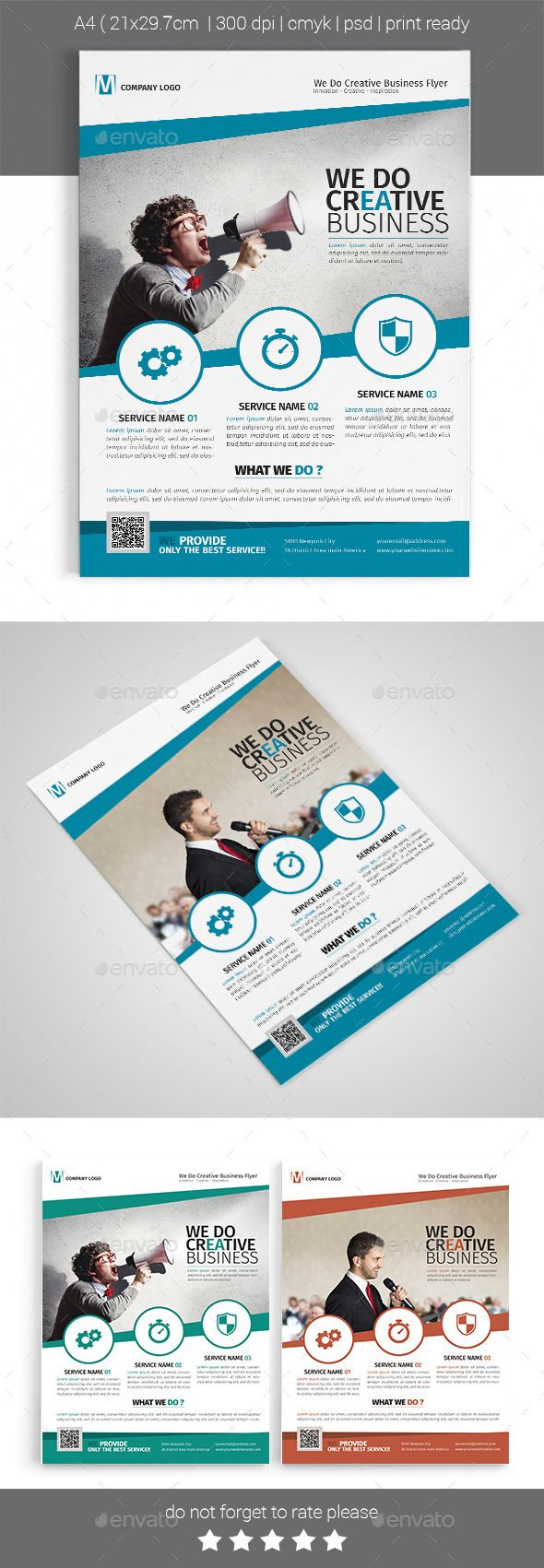 1000 ideas about business flyers business flyer a4 corporate business flyer template design graphicriver net
