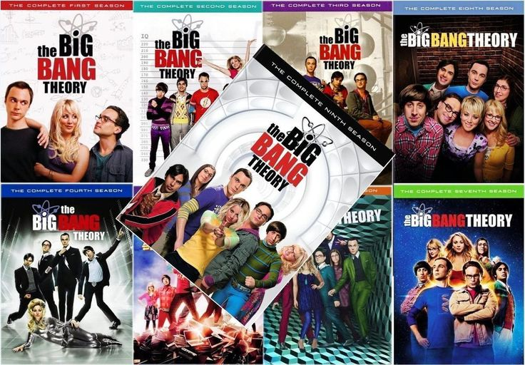 The Big Bang Theory: DVD Box Set Seasons 1-9 New and Sealed 1-2-3-4-5-6-7-8-9