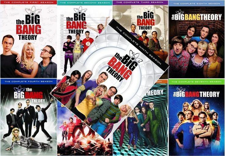 The Big Bang Theory: DVD Box Set Seasons 1-9 New and Sealed 1-2-3-4-5-6-7-8-9