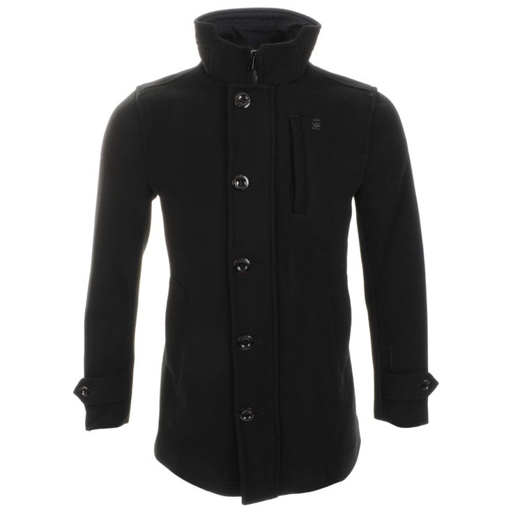 G Star Raw > G Star Raw Garber Trench Coat Black > G Star Jackets G Star Raw Coats G Star Mens Designer Clothing Stockists Online UK Mainline Menswear Stockists Of G Star Diesel Lyle & Scott Franklin Marshall Paul Smith Lacoste And Many More