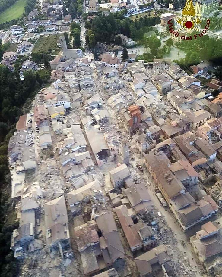 Thoughts & Love to those in Amatrice, Italy.