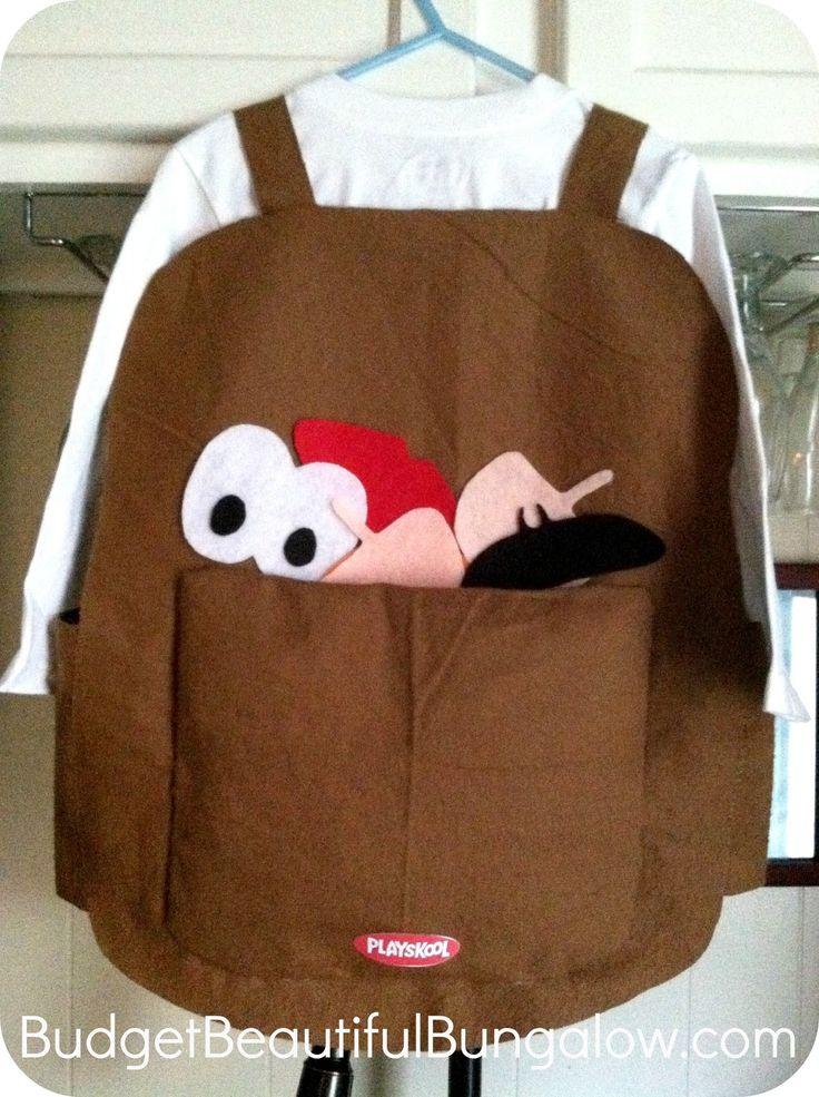 Budget Beautiful Bungalow: $13 Handmade Halloween Costume