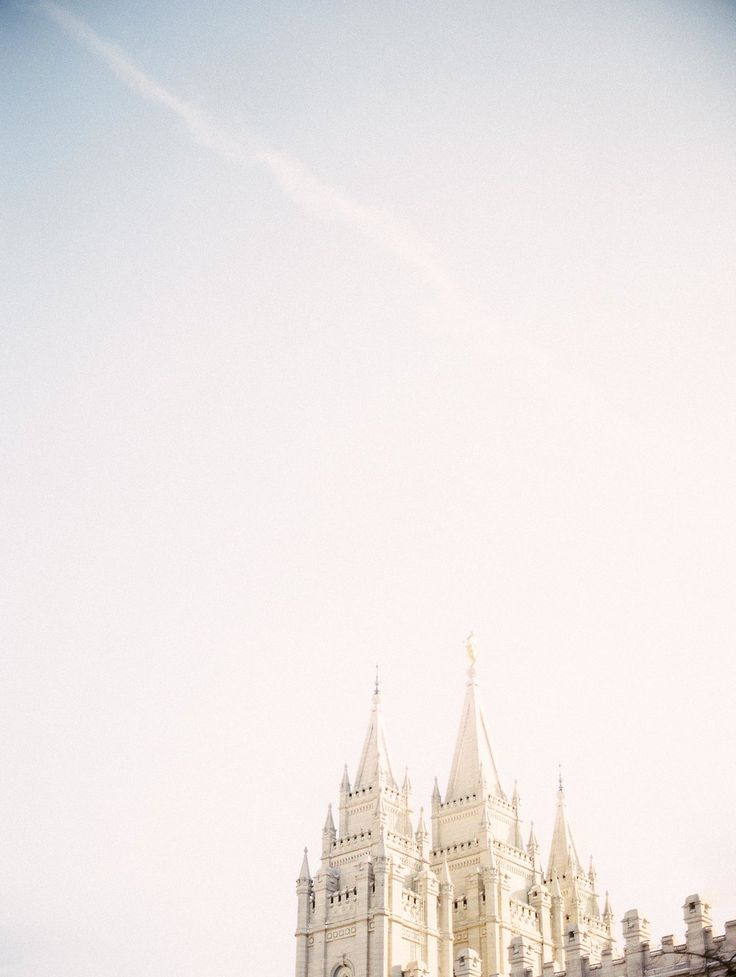 Salt Lake Temple, Utah | Michelle White Photo