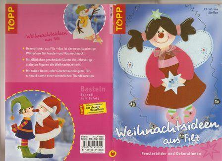 Topp karácsonyi ötletek filcből - Angela Lakatos - Picasa Webalbumok