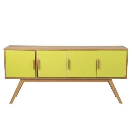 Mika 4 Door Buffet | Freedom Furniture and Homewares