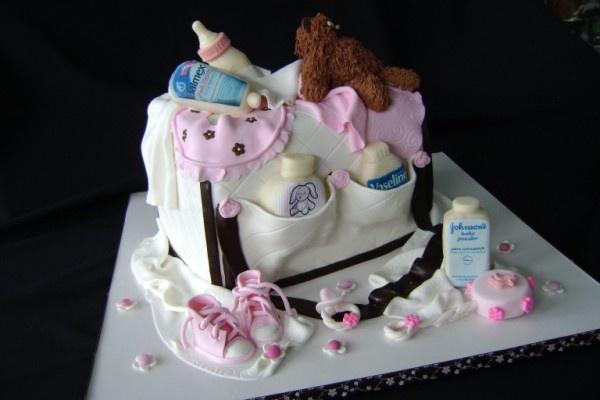 Baby Diaper Cake Photos