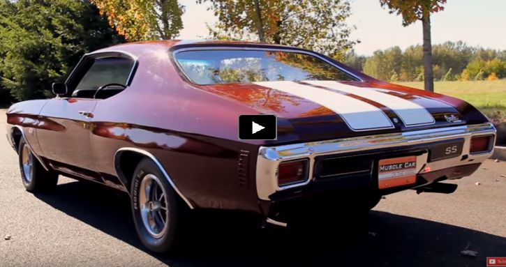 The Last Chevrolet Chevelle LS6 454 Built in 1970