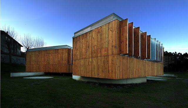 Centro sociocultural de Teo, A Coruña, HIC Arquitectura