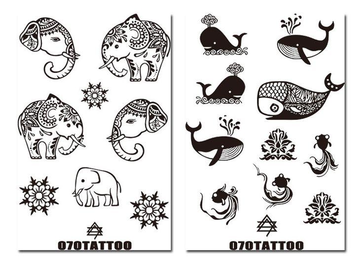 animals tattoo designs | Henna designs on paper, Henna ... |Henna Tattoo Design Animals