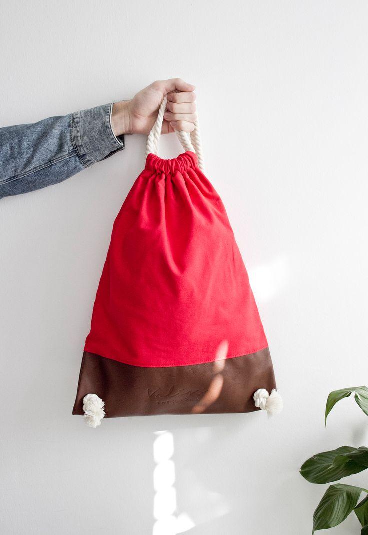 Valise rojo & marrón. #bagpack #barcelona #valisebags #valisebarcelona