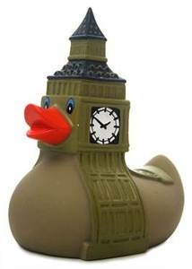 Big Ben Rubber Duck Union Jack England Bath Toy UK Gift Brand New Item   eBay
