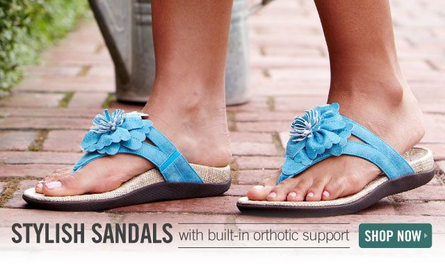 Orthaheel Usa--Healthy Flip-Flops With Built-In Arch -5941