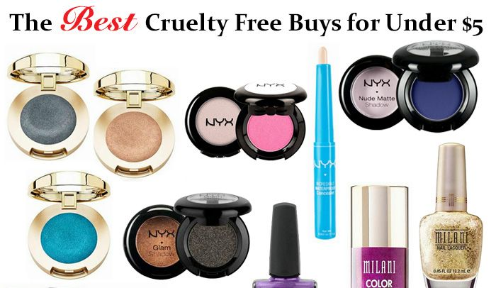 Best Cruelty Free Makeup For $5 or Less. I've got the best cruelty free and vegan budget beauty products for $5 and under. Score a deal on some great makeup