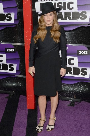 CMT Music Awards  Lisa Marie Presley...2013