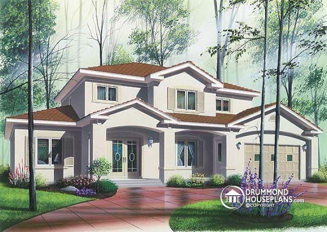 House plan W4833 by drummondhouseplans.com