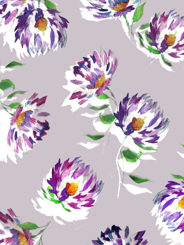 'Watercolour Floral' entry for Botanical Extract by Christopher Sewell