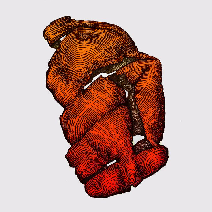 Tangerine peel is all that remains after the holidays.#andreyberger #aber #aber_one fine liner + digital, 2015
