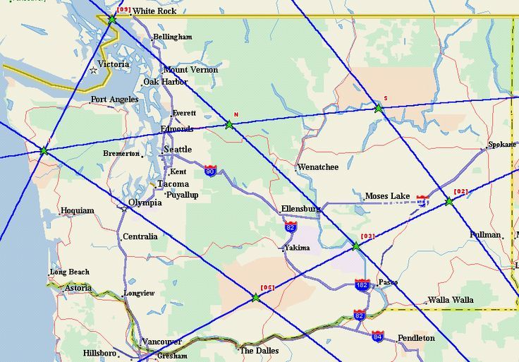Washington State Ley Lines Maps Pinterest Native American - Washington state falling off the us map