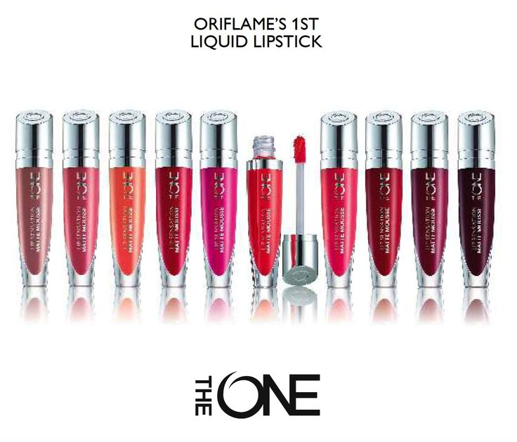 Buy http://orijen.co.uk/make-up/the-one-high-impact/the-one-lip-sensation-matte-mousse/prod_11043.html Light-as-air liquid lipstick with a smooth, velvety fi...